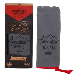 Gentlemen's Hardware Travel Towel