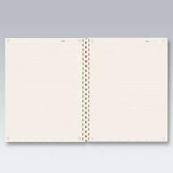 myNo Large Spiral Notebook