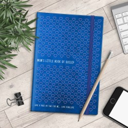 Personalised A5 Notebook - Mum's Little Book of Gossip - myNo Book
