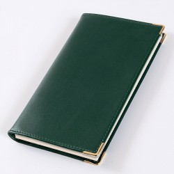 Green Leather Diary Set with a 2021 Diary Insert