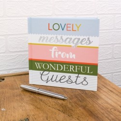Guest Book 'Lovely Messages From Wonderful Guests'