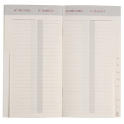 32 Side Pocket Address Book
