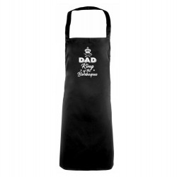 Dad 'King of the Barbeque' Apron