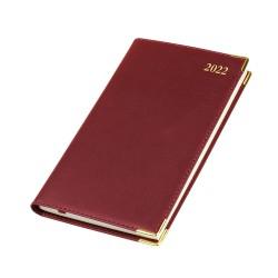 2022 Kingston Leather Pocket Diary - Bookbound - Senator - Week to View