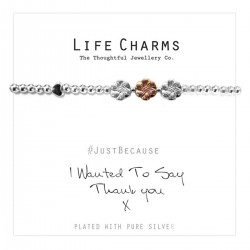 Life Charms - Thank You Bracelet