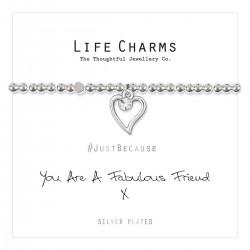 Life Charms - Fabulous Friend Bracelet