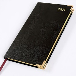 2021 Leathertex Pocket Diary - Bookbound - Congressman - Landscape