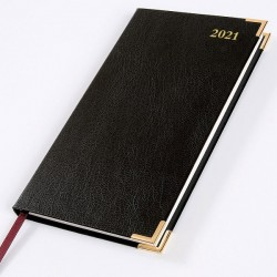 2021 Leathertex Pocket Diary - Bookbound - Senator - Week to View
