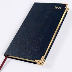 2021 Leathertex Pocket Diary - Bookbound - Congressman - Landscape