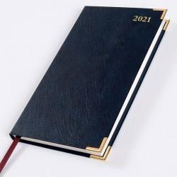 2021 Leathertex Pocket Diary - Bookbound - Senator - Week to View