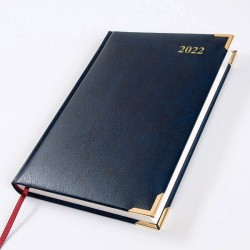 2022 Leathertex A5 Diary - Bookbound - Baron - Page a Day