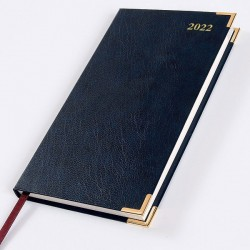 2022 Leathertex Pocket Diary - Bookbound - Congressman - Landscape