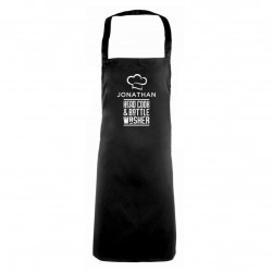 Head Cook & Bottle Washer Apron - Personalised