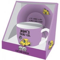 Mum's Taxi Co - Cup and Saucer