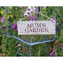 Garden Sign - Mum's Garden