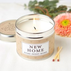 New Home Tin Candle