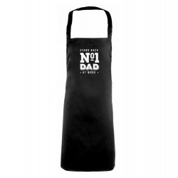 'Stand Back - Number 1 Dad At Work' Apron
