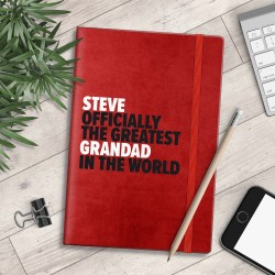 Personalised A5 Notebook - Greatest... In The World - myNo Book (Boys)