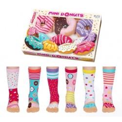 Mini Donuts - Socks For Girls by  United Oddsocks UK 12-5.5