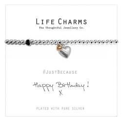 Life Charms - Happy Birthday Bracelet