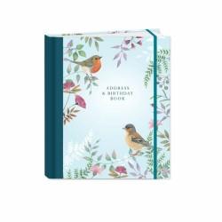 Vintage Garden Stationery - A5 Address & Birthday Book