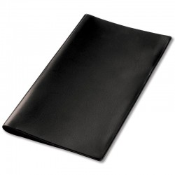 Basic Plastic Pocket Diary Cover - Black