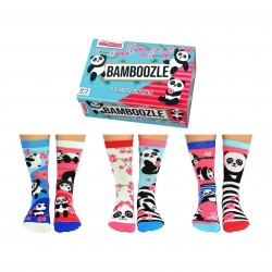 Bamboozle - Socks for Ladies by United Oddsocks UK 4-8