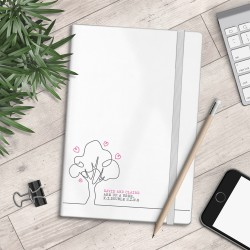 Personalised A5 Notebook - Up A Tree - myNo Book