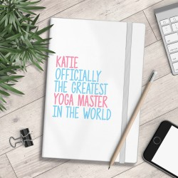 Personalised A5 Notebook - Greatest... In The World - myNo Book (Girls)