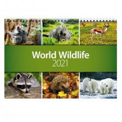 2021 World Wildlife Wall Calendar